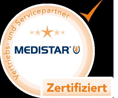 MEDISTAR zertifizierter Partner
